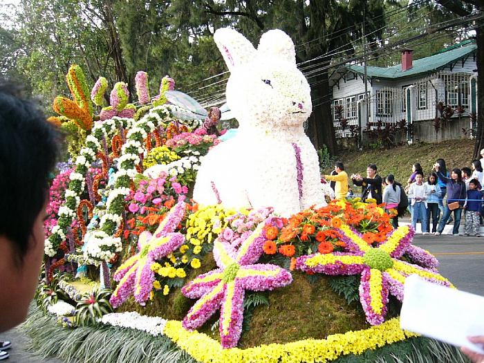 Flower Festival Float 7