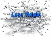 kozzi-26803648-3d image Lose weight word cloud concept-832x624